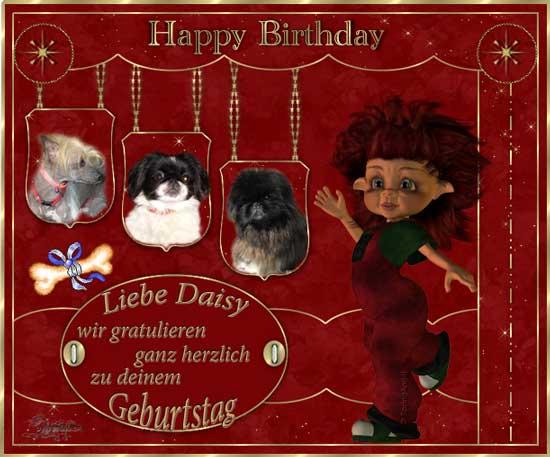 An den Beitrag angehängtes Bild: http://www.vom-drachentor.de/Geschenkbilder/geb2011/Daisy2011.jpg